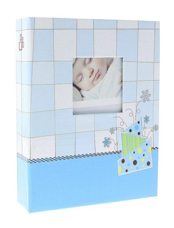 Фотоальбом 10x15/200 DPH46200 BABY CHECKER-1