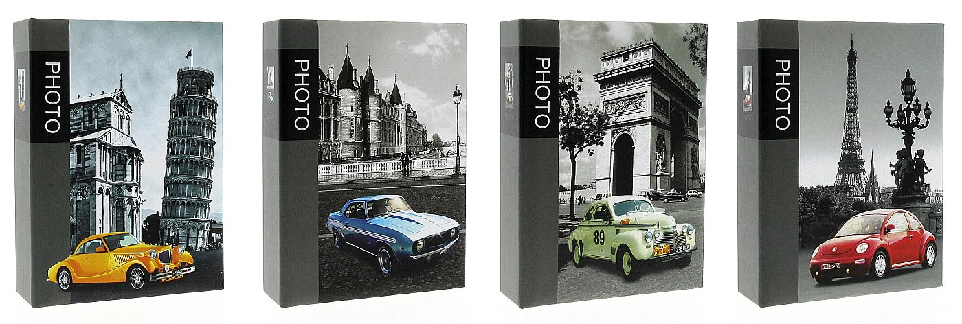 Фотоальбом 10x15/100 MM46100 OLD CAR